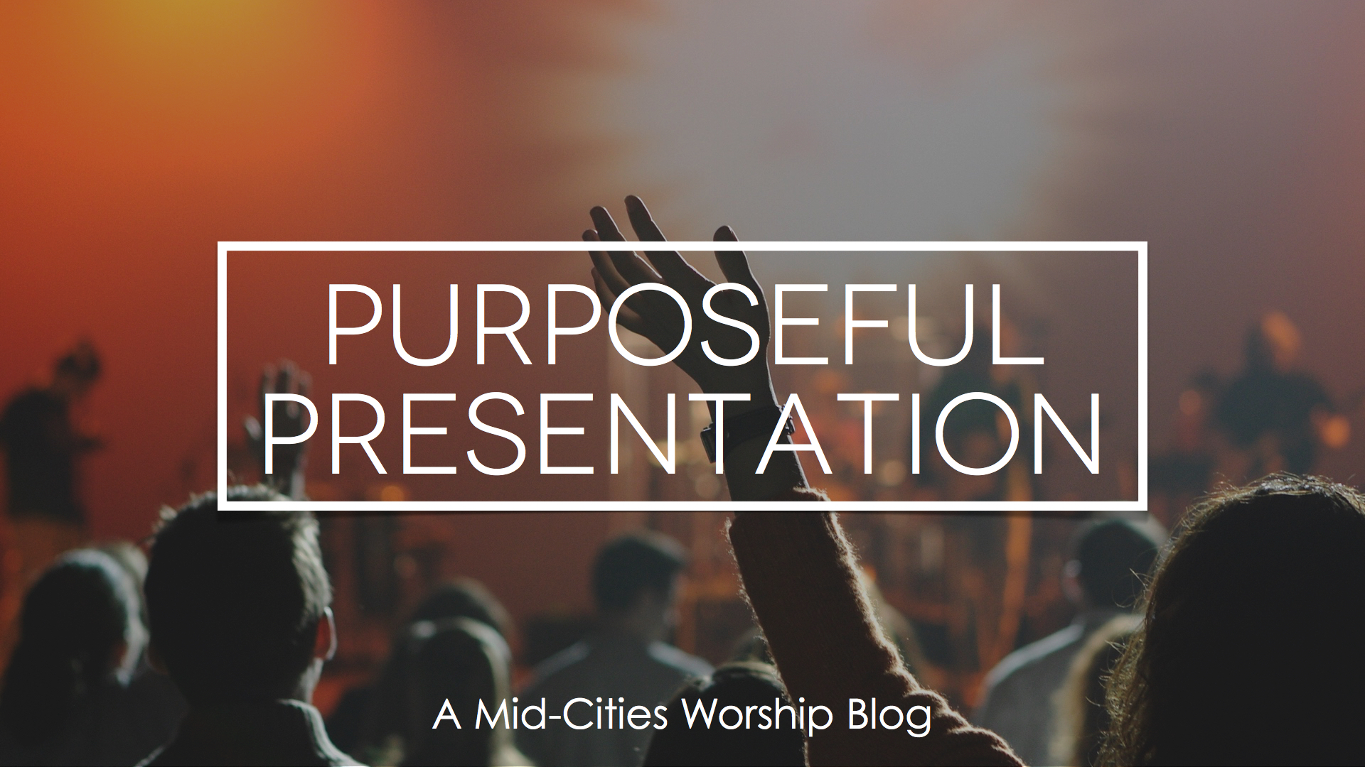 Purposeful Presentation